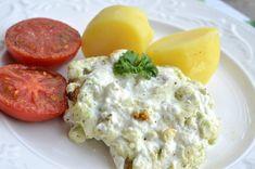 Philadelphiabakad torsk Eggs, Breakfast, Food, Breakfast Cafe, Egg, Essen, Yemek, Meals, Egg As Food