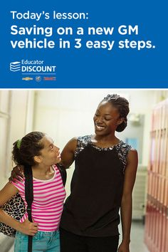 Educators: for everything you sacrifice for your students, you deserve something in return. The Educator Discount can save you hundreds, even thousands, on eligible, new Chevrolet, Buick and GMC vehicles. It's the best educator discount from any car company, and you've earned it!