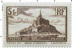 Le Mont -Saint-Michel , France (1929)