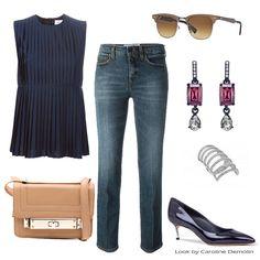 Um jeans perfeito! Veja post completo em www.carolinedemolin.com.br. #moda #fashion #tendencias #trend #personalstylist #personalstylistbh #consultoriademoda #consultoriadeimagem #imagem #identidade #fashionblogger #looks #lookdodia #lookoftheday #estilo #style #sophiawebster #loveshoes #shoes   #victoriabeckham # #casadei #rayban #oscardelarenta #michaelkors #schutz www.carolinedemolin.com.br