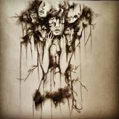 Between depression, anxiety, and life in general. this is what it feels like to try and sleep. Mental Health Art, Depression Art, Fade To Black, Art Google, Dark Art, Amazing Art, Fantasy Art, Creepy, Art Drawings