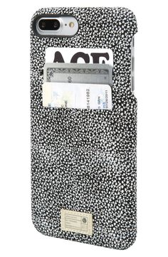 Loving how stylish this durable, water-resistant iPhone case is. The card slots are convenient too!