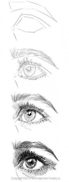 Astounding Learn To Draw Eyes Ideas People Drawing people drawing pictures Cool Art Drawings, Pencil Art Drawings, Art Drawings Sketches, Easy Drawings, Anatomy Sketches, Sketch Drawing, Eye Drawing Tutorials, Drawing Techniques, Art Tutorials
