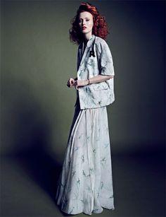 Karen Elson for Vogue Thailand by Marcin Tyszka