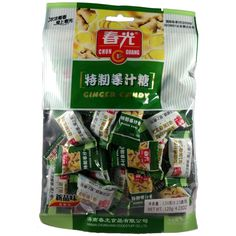 Chun Guang Premium Ginger Hard Candy, 4.23 oz. Great for sore throats!