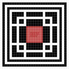 Japanese mosaic pattern