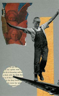 'Hero's Journey' - Collage on Illustration Board 2011