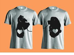 Disney Couple / Vacation Shirts Custom Lady and Tramp  - Perfect for Family Vacation, Reunion, Teams, or Just for Fun!
