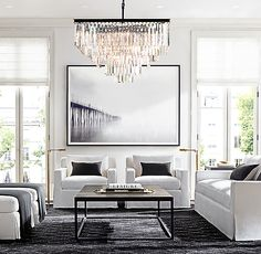48 Stunning Formal Living Room Decor Ideas To Get A Neat Impression Design Living Room, Boho Living Room, Formal Living Rooms, Home And Living, Living Room Decor, Cozy Living, Rooms Decoration, Restauration Hardware, Black And White Living Room