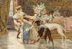 дама с собаками, предпросмотр