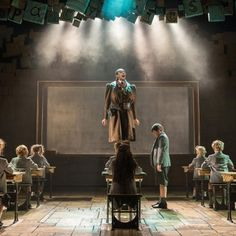 Craige Els as Miss Trunchbull with the Company