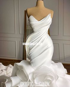Wedding Dress Organza, Princess Wedding Dresses, Elegant Wedding Dress, Best Wedding Dresses, Elegant Dresses, Bridal Dresses, Beautiful Dresses, Vintage Dresses, Dress Lace
