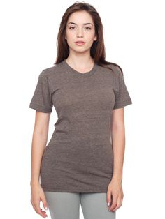 The. Best. T-shirt. $22 from American Apparel. Unisex Triblend track shirt. Ladies, get a size smaller than you usually wear. I could live in these!