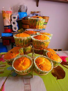 Muffins con le uvette