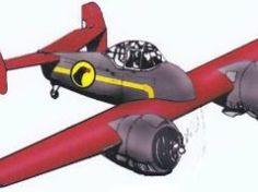 Grumman XF5F Skyrocket (Repaint for Memorial Day) Free Aircraft Paper Model Download