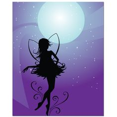 Fairy Moon Art Print | Overstock™ Shopping - Top Rated Prints