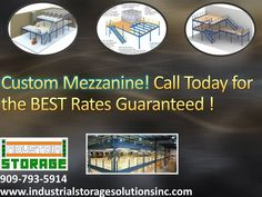 909-793-5914 www.industrialstoragesolutionsinc.com  Our team of professionals is dedicated to ensuring we satisfy our customers Every time we complete a project for them. Whether it is a MEZZANINE or PALLET RACK you are looking for, we guarantee we will surpass your expectations. Customer satisfaction and high-quality industrial products are what we pride ourselves in. We look forward to helping you! #1 IN CUSTOMER SATISFACTION