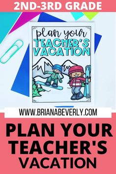 This math PBL activity asks students to plan their teacher's vacation. Everything from sticking to a budget, mapping out a schedule, planning activities, shopping for vacation, and more are tasks your student will complete when they plan your vacation form beginning to end. This math project ends with a paired writing activity that asks students to write an essay about the project.