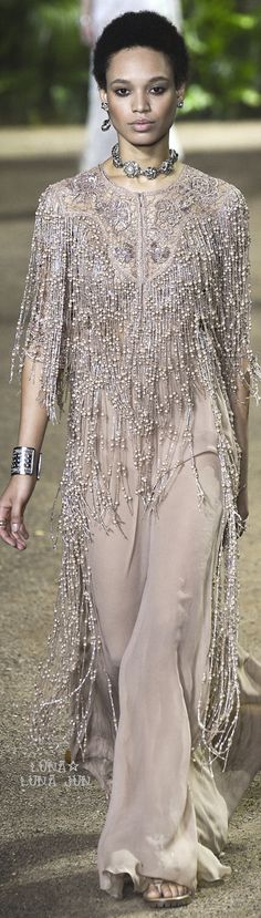 Elie Saab Spring 2016 Couture. Exclusive bohemian. For more follow www.pinterest.com/ninayay and stay positively #inspired