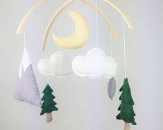 Felt Patterns & Kits and Pom Pom Garlands by FawnandBrambleLtd Nursery Themes, Nursery Decor, Mountain Nursery, Adventure Nursery, Pom Pom Garland, Felt Patterns, Garlands, Kids Room, Etsy Seller