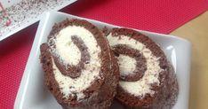 VÍKENDOVÉ PEČENÍ: Kakaová roláda se smetanovým mascarpone Pavlova, Cheesecake, Rolls, Breakfast, Pizza, Recipes, Cupcakes, Blog, Roll Cakes