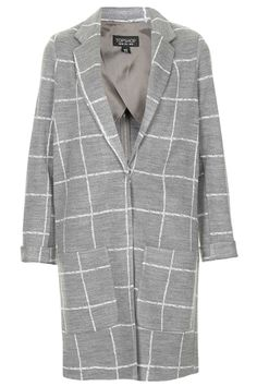 Check Print Throw On Coat - Jackets & Coats - Clothing - Topshop