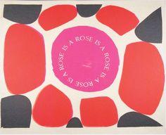 Sister Corita Kent, rose, 1965, Corita Art Center, Immaculate Heart Community, Los Angeles