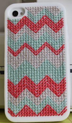Melanie Ham Designs: DIY iPhone cross stitch case tutorial