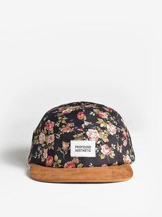 c9f2f1209c1c5 Profound Aesthetic- Portland Rose Five Panel Floral Hat Pacsun