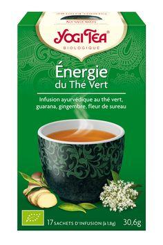Le thé vert améliore et le guarana la vigilance et la concentration intérieures de notre âme. Le fait d'être vigilant et alerte nous confère une meilleure perspective et une présence consciente. Dégustez le guarana traditionnel de la forêt tropicale combiné avec du thé vert doux dans ce mélange YOGI TEA® concentré. La menthe poivrée, la citronnelle et la fleur de sureau apportent une touche fraîche et fruitée à ce mélange délicieux.  Le message subtil de cette infusion est : « La méditation…