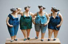 Keramiek kunst objecten afbeeldingen galerij beelden van keramist Jeanne te Dorsthorst