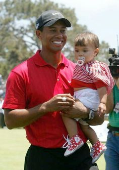 Tiger Woods and Sam