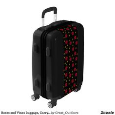 Roses and Vines Luggage, Carryon, medium and large