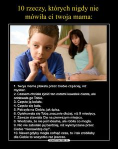 Mamy po prostu są takie Love Is Sweet, Kids And Parenting, Motto, Good To Know, Personal Development, Life Lessons, Einstein, Quotations, Texts