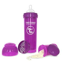 Twistshake AntiColic 330ml11oz Purple * Read more reviews of the product by visiting the link on the image.-It is an affiliate link to Amazon. #BottleFeeding