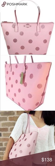 """Kate Spade large tote Brand new with tag. 15""""L x 11.5""""H x 6.5"""" D. No trades  kate spade Bags Totes"""