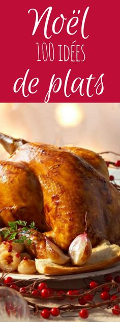 100 meal ideas for your Christmas meal - Plats de Noël - noel Vegetarian Recipes, Cooking Recipes, Healthy Recipes, Easy Recipes, Healthy Food, Xmas Food, Recipe Collection, Food Inspiration, Love Food