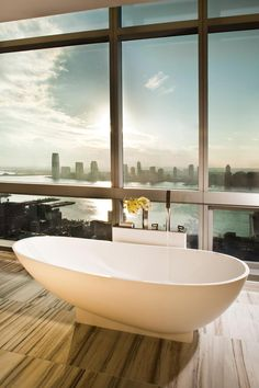A picture from Hotel Trump Soho, New York. And no--you don't have to be a hotel guest to experience this--you can buy an apartment here as well! http://newconstructionmanhattan.com/buildings/trump-soho-condominium-hotel-1?utm_source=sm3_medium=sm3_campaign=sm3