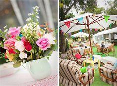 Cute set up | Polka Dot Bride