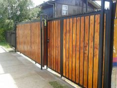 Most Inspiring Redwood Fence Designs Ideas to Style Up Your Yard There is no doubt that a fence is a must-installed addition to every exterior of the house. It secures the house, provides privacy, and also beautifies the layout of your. Read more… Wooden Pergola Kits, Redwood Fence, Garden Wall Designs, Outdoor Spaces, Outdoor Decor, Pergola Designs, Pergola Ideas, Modern Fence, Fence Design