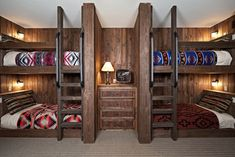 Built In Traditional Bunkbeds Design Ideas