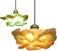 """Brittany"" pendant lights from WAC Lighting"