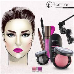 Si buscas un look moderno y vibrante para la noche, estos son los elementos que debes destacar: cejas bien definidas y labios impactantes.
