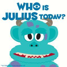 Who is Julius? #MonstersUniversity #MonstersInc #Sulley