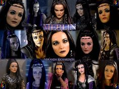 """Miranda Richardson as Queen Mab in made for TV movie """"Merlin"""" 1998"""