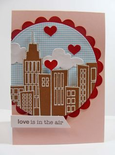 NEW A Muse Studio 'Love is in the Air' stamp set