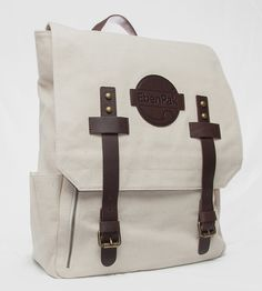 Natural Canvas Rucksack by EbenGroup on Scoutmob Shoppe