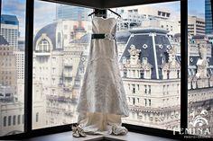 Lace wedding dress a