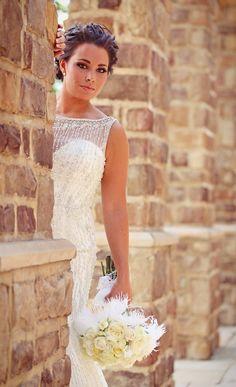 Bridal portrait Pinnacle Golf Club by Julian Allen Photography | #JulianAllenPhotography #PinnacleGolfClub #BridalPortrait #ColumbusWeddings
