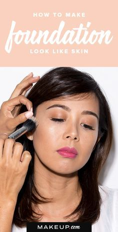 When it comes to foundation, it should look as natural as possible. We'll tell you what you need to do to a make your foundation look like your skin.